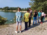 šetnja po jezeru u Zaprešiću
